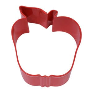 """2.5"""" Red Apple cookie cutter"""
