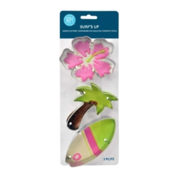 Surf's Up 3PC Cookie Cutter Set